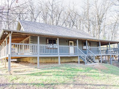 Photo for Gorgeous 5 Bedroom Log Home Less Than 5 Minutes From Chaumette And Charleville.