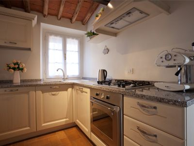 Photo for NEW FLAT IN THE HISTORICAL CENTRE OF LUCCA, WITH HIGH SPEED INTERNET,