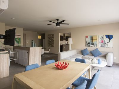 Photo for Modern apartment - pool & jacuzzi - 9 guests!
