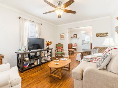 Photo for 2 Bedroom, 1 Bath Historic Home, Dog Friendly, Walking distance to shops, restaurants and a theater!