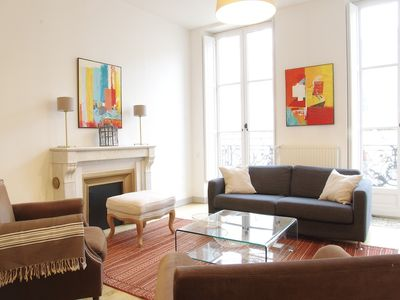 Photo for Charming apartment located in the heart of the Triangle