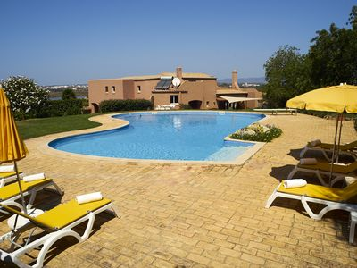 Photo for 6 bedroom villa set in 7 acres of garden with large pool and close to beach