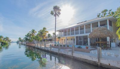 Photo for Beautifully furnished 3 bedroom/3 bath canal front, pool home that sleeps 10.
