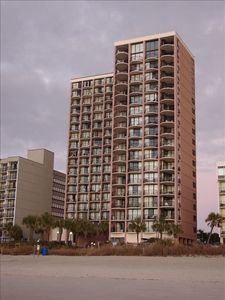 Best views in Myrtle Beach is at the Palms Resort!
