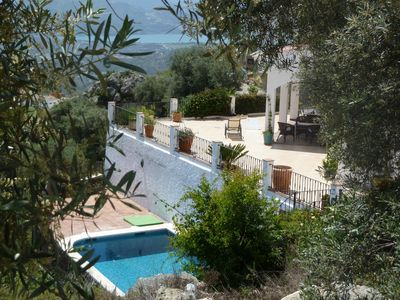 Photo for Stunning villa with private pool in Axarquia region of Costa del Sol