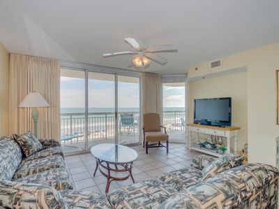 Photo for Oceanfront luxury condo, well maintained, great location and amenities