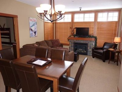 Photo for Multi level 2 bedroom condo, easy access to ski trails