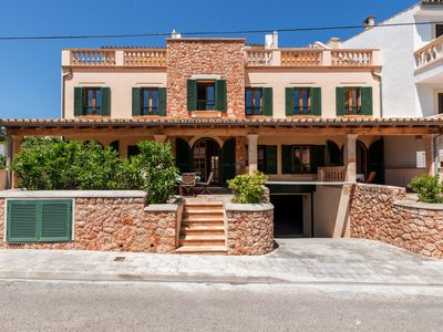 Photo for With a rooftop terrace and communal pool – Casa Sa Torre I