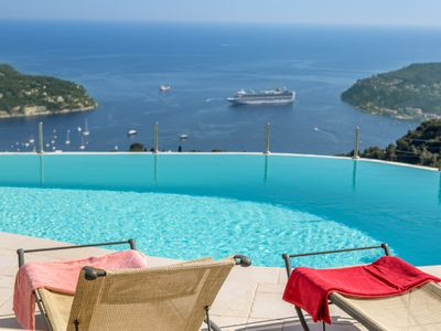 Photo for 5BR Villa Vacation Rental in Villefranche-Sur-Mer, Provence-Alpes-Côte-D'Azur