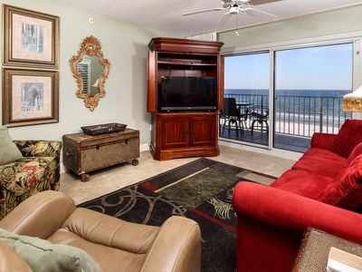 Photo for Summerlin 305: BEACH FRONT 3rd Floor CORNER Condo ~ FREE Beach Service & more