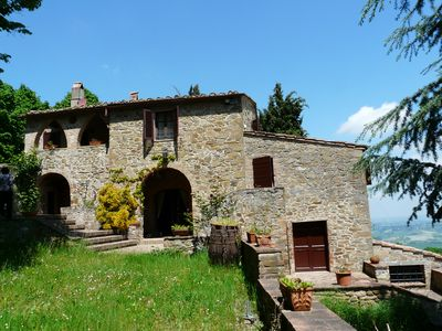 Photo for Stunning house with breath-taking view, at walking distance from the village