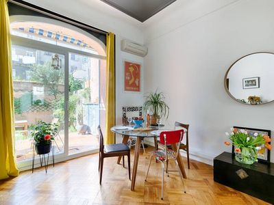 Photo for LOFT with 50m2 garden - Heart of the city - Air Rental