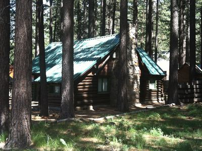 Photo for Authentic Log Cabin! 2 Blocks From The Lake, In The Heart Of South Lake Tahoe!