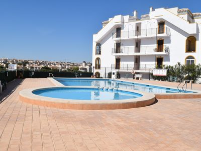 Photo for Ground Floor apartment opposite pool 1 of 2