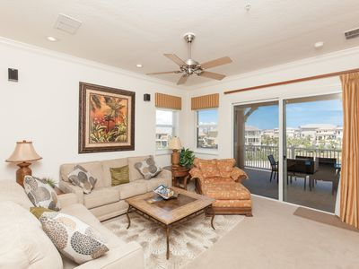 Photo for Cinnamon Beach End Unit - 341 ! Over 2100 sf with Ocean and Golf Views !!