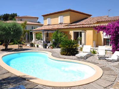 Photo for NICE VILLA WITH SWIMMING POOL AND MEDITERRANEAN GARDEN / 6 PERS.