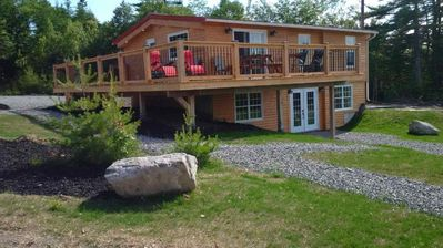 Cottage - View of Wrap Around Deck