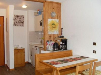 Photo for Apartment Valfréjus, studio flat, 5 persons