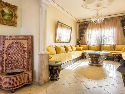 Photo for The Moroccan Luxurious TRIPLE Bedrooms Full Home Service