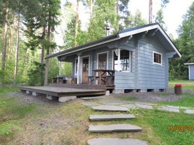 Photo for Vacation home Hukka 7 in Rantasalmi - 6 persons, 2 bedrooms