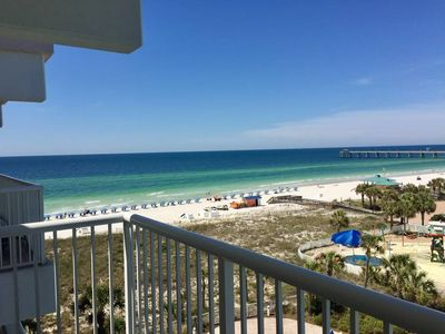 Photo for DESTIN WEST 507 **Lazy River** Free Beach Service ~ Gulf Views!