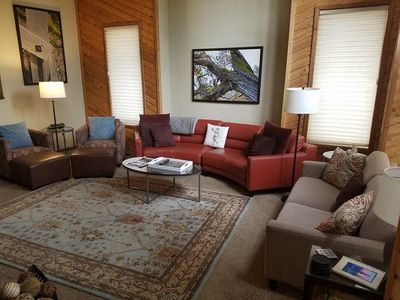 Photo for This property is a 2837  square feet,  4 Bedroom, 4 bathroom accommodation located in Sunriver. It c