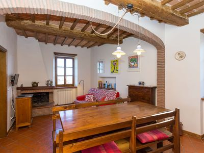 Photo for Lovely flat in the medieval village of Panicale-SPECIAL OFFER FOR LONG STAY