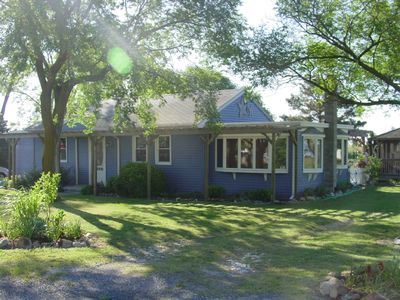 Photo for Renovated home w/garden on water w/great Chesapeake Bay views, quiet street.
