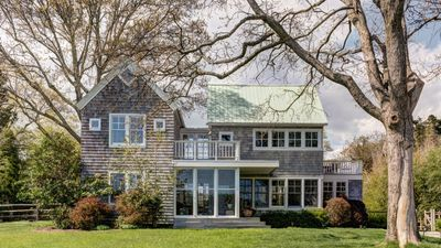 Photo for New Listing: Stunning Vacation Retreat, Open Water Views, Spacious Decks, 1 mile from Sag Harbor