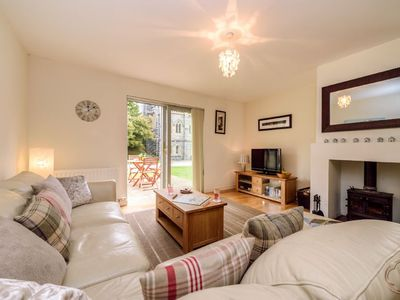 Luxury self catering cottage with swimming pool  in the grounds of a Monastery on Loch Ness