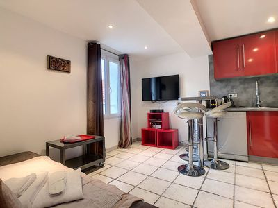 Photo for Beautiful 2 rooms 4p near from the Palais