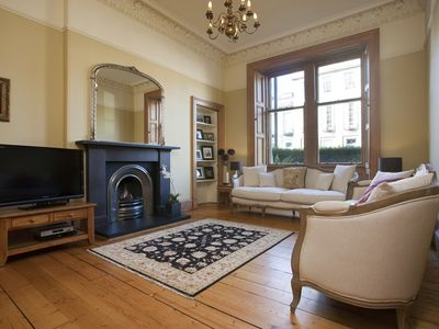 Photo for Luxury 5 bed apartment in Edinburgh's new town