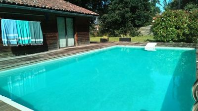 Photo for SO093- Villa 8 pers. with Pool- Soustons