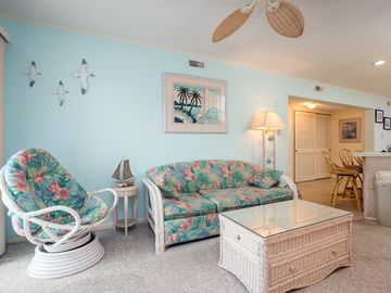 Tiffany By The Sea, two bedroom, two bath condo oceanblock on 56th Street