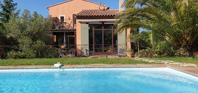 Photo for beautiful villa provencal style with private swimming pool and garden