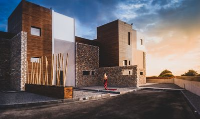 Photo for Amara luxury villas, unique contemporary style villas in Lachania Greece!