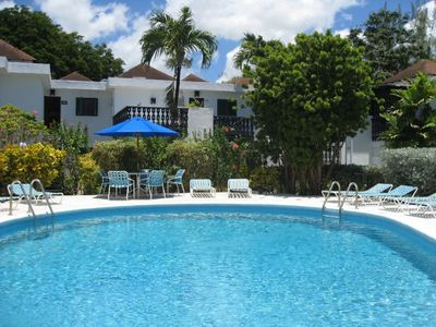 Photo for 632 Bushy Park - one bedroom apartment at Rockley Golf & Country Club with pool