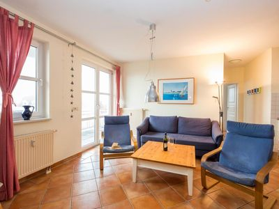 Photo for Beautiful apartment with two bedrooms, balcony overlooking the Salzhaff and swimming pool use