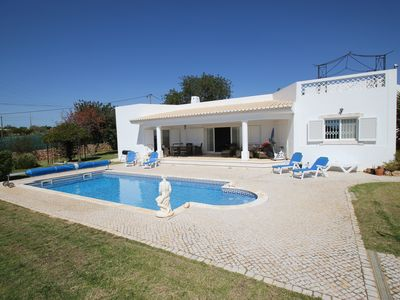 Photo for Stunning villa with private pool and free air con and wi-fi