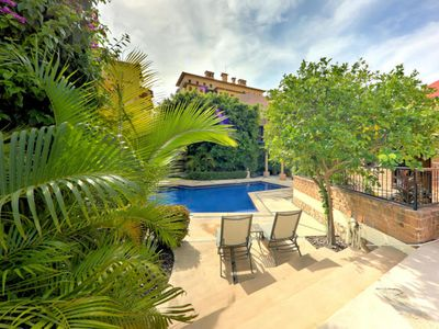 Photo for CABO PENTHOUSE!! Hidden Gem w/Rooftop Deck, Pool, Steps to the Marina + Beach