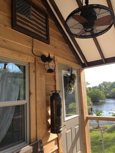Photo for Tiny Shack is a TINY HOUSE, waterfront,1 small pets ok, quiet, plenty of parking