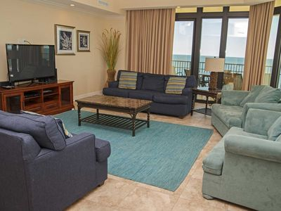 Photo for Rates Dropped ~ 4 Bed, 4.5 Bath ~ Corner condo ~ Gulf Front ~ Lazy River ~ Phoenix West 2 901