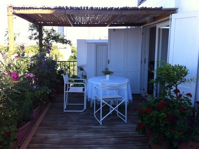 Photo for Charming Apartment with large terrace/sun deck Palermo Soho