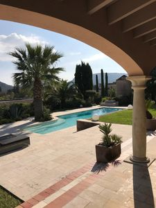 Photo for Beautiful central villa with pool, view to Cannes and near the beach