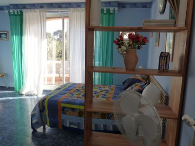 Photo for Studio for 2 people 7 minutes walk from the beach verne