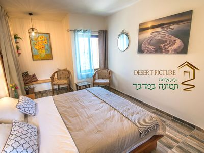 Photo for Desert Picture Villa  a large Boutique house in ARAD