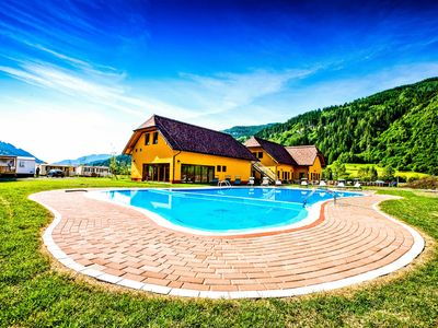 Photo for Cozy Bungalow With Pool And Mini Petting Farm