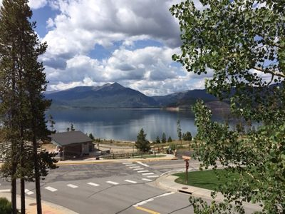 Dillon Condo Rental   The View Of Lake Dillon U0026 Amphitheater From Our  Balcony In The