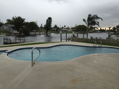 Gulf Harbors On Canal Heated Pool Homeaway