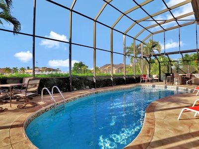 Photo for LUXURY, 2-STORY, WATERFRONT, POOL HOME!